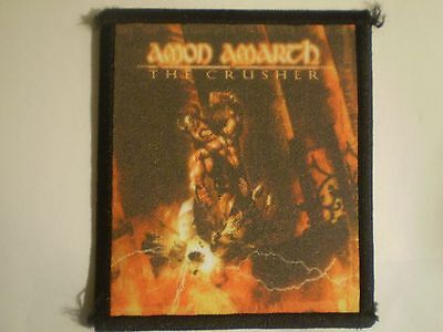 Amon Amarth - The Crusher Sublimated Patch UNLEASHED ENSLAVED ENSIFERUM TYR