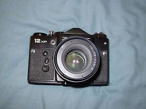 Vintage Zenit 12 XP SLR Camera with Helios 44-M-4 M42 Lens Excellent Condition