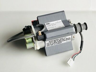 Nidec Large Field Magnets Dc Servo Motor W Encoder - Diy Wind Powered Projects