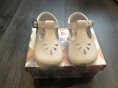 nt Summer Pre Walker Baby Shoes Size 18 New Boxed Rrp £29 (White Patent)