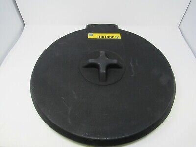 Drum Funnel Cover, Black (Drum Funnel Cover)