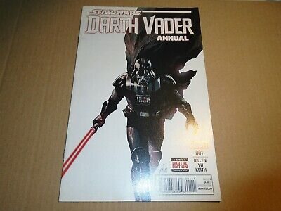STAR WARS : DARTH VADER ANNUAL #1 Marvel Comics 2016 NM