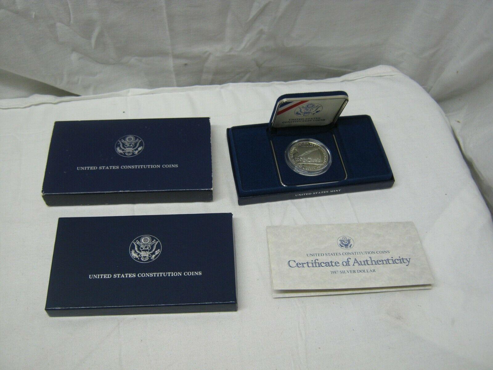 1987 US Constitution 200th Anniversary Silver Proof Dollar - $24.95