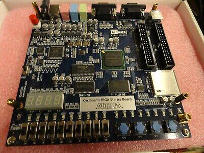 Altera Cyclone Ii Fpga Starter Board W Ac Adapter