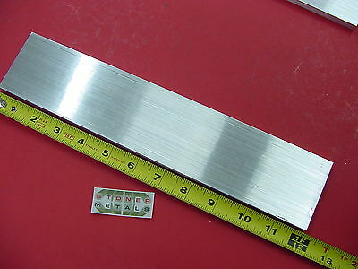 38 X 2-12 Aluminum 6061 Flat Bar 12 Long T651 .375 Plate Mill Stock
