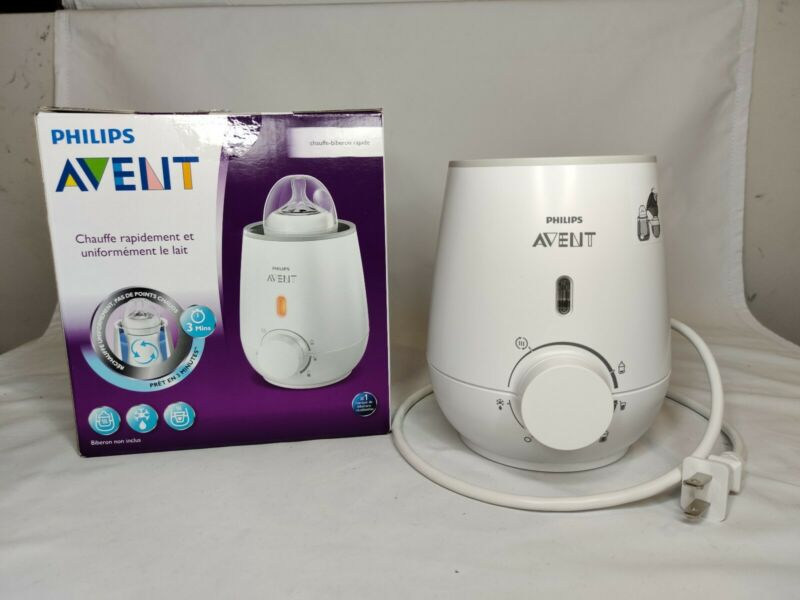 Philips Avent Fast Baby Bottle Warmer - SCF355/06 - Open Box