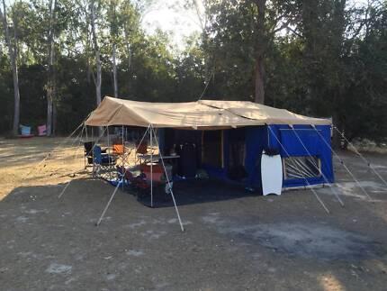 2011 Dingo Camper Custom (Huge tent - sleeps 10)