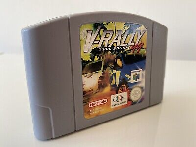 V-Rally Edition 99 Nintendo 64 N64 Cart Only CLEANED AND TESTED VGC