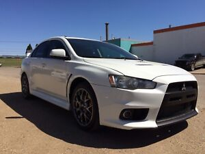 2014 Mitsubishi Lancer Evolution awd turbo 39km