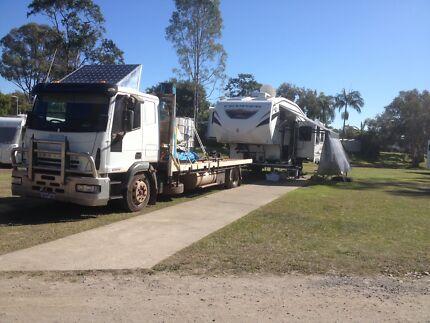 Caravan Site Parking 5th Wheeler Broadbeach Waters Gold Coast City Preview