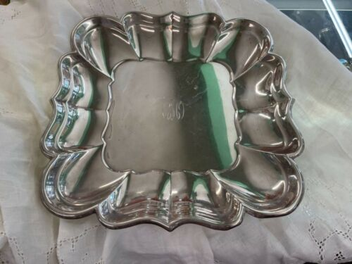 """Windsor Sterling Tray 1100 Grams 14"""" wide Reed & Barton"""