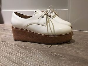 Patent White Women's Loafers