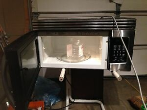 lg stainless steel microwave over the range