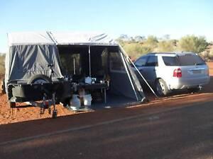 Off road hard floor camper trailer with rego til June Hughes Woden Valley Preview