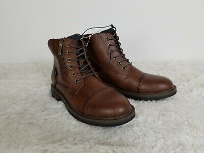 Guess Mens Fashion Ankle Boots Dark Brown NWOT Size 8.5  (Mens Guess Boots)