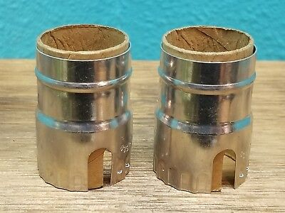 Leviton Electrolier Socket - New Leviton Nickel Light Socket Keyless Lamp Holder Electrolier SHELL ONLY