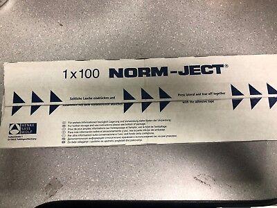 Lot Of 100 Box Norm-ject 2 Ml Single Use Plastic Syringeluer Slip