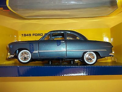 1949 FORD BLUE COUPE TOY DIE CAST IN BOX