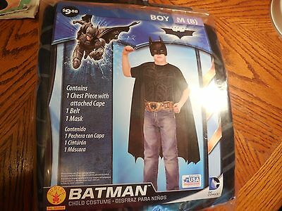 Batman Halloween Costume/ Dress-up Fantasy Play —Boys Size 8--New in Package - Halloween Fun Packet