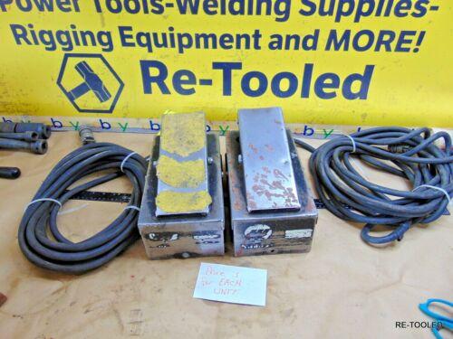 MILLER Welder Pedal RFC-23A Arc Welding Remote Foot Amperage Control & Cord Line