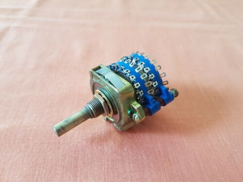 UNIDEX 249 rotary switch 4 X 23 position audio NEW made in USA