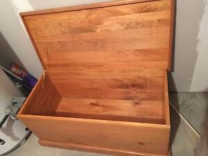 Hope chest / storage box / blanket box