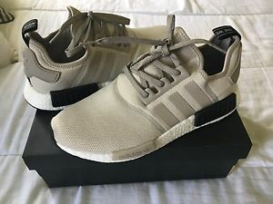 Adidas NMD R1's beige/white/black Chermside Brisbane North East Preview