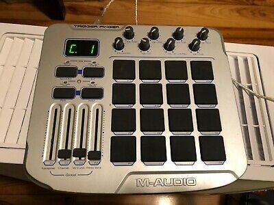 M-Audio Trigger Finger 16-Pad MIDI Pad Controller Drum Pad Control Surface