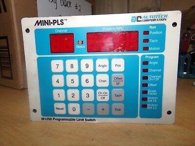 Autotech M1250 Programmable Limit Switch Free Shipping