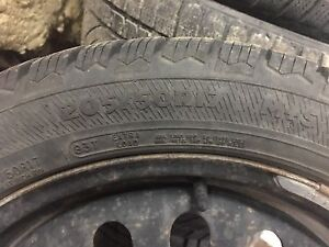 Winter Tires - one season old
