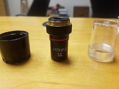Olympus Mplan 5 5x0.10 Microscope Objective Lens