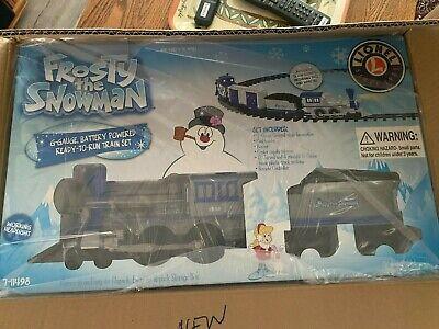 Lionel Frosty The Snowman Batt Power Christmas Tree Skirt Train Set 7-11498