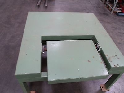Menzel Pneumatic Tilt Table Type 66ht  60 X 60 With 26 X 30 Tilt Board