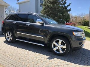Jeep grand Cherokee Limited 2011 toit panoramique