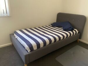 King single bed & mattress Griffith South Canberra Preview