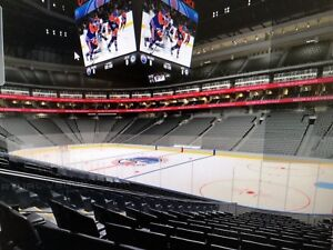 Lower Bowl Edmonton oilers tickets to various games for sale!!