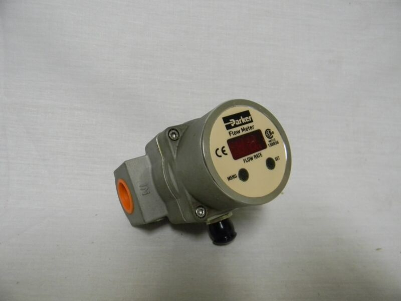 "Parker Vortex Flowmeter 1/2"" NPT 12 GPM 120V #PF08SNP000"