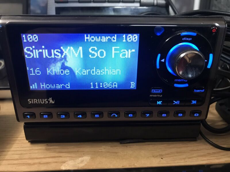 not ACTIVE SIRIUS XM SP5 Sportster 5 SATELLITE RADIO Needs Subscription