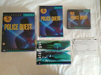Police Quest Collection - Big Box PC CD ROM 5 Full Games 1 2 3 4 5 - Complete  for sale  Shipping to Nigeria