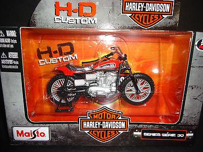 Maisto Harley Davidson XR750 1972 1/18 S30 fs1