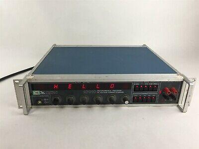 Valhalla 2701c Programmable Precision Dc Voltage Calibrator Current Standard