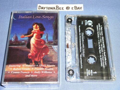 Italian Love Songs K-Tel Frankie Avalon Dean Martin Connie Francis Andy Williams