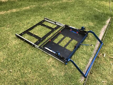MSA 4x4 Side Drop Down Fridge Slide 60Ltr
