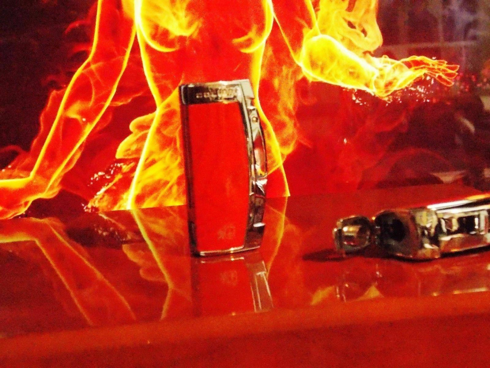 Colibri burlwood Enterprise Triple Jet Flame Cigarette Light