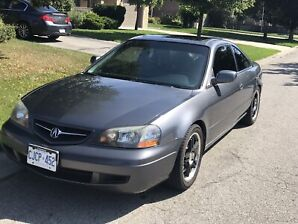 2003 Acura CL Type S - 6 speed manual transmission