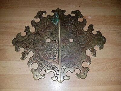 Old Brass Cabinet handle Back Plates
