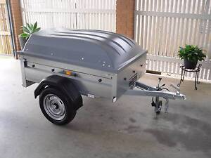 TRAILER> LIGHT WEIGHT BOX TRAILER WITH LOCKABLE TOP. Algester Brisbane South West Preview