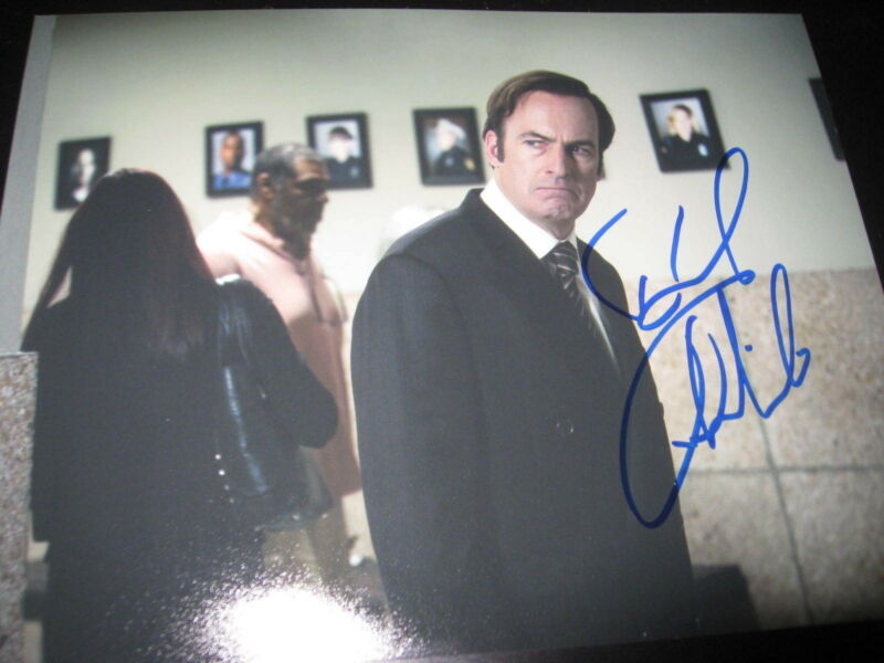 BOB ODENKIRK SIGNED AUTOGRAPH 8x10 PHOTO BETTER CALL SAUL BREAKING BAD COA NY X9