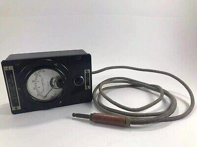Rca Transmitter Test Meter 0-15ma Mi-21200c1 Cool Collector Museum Item
