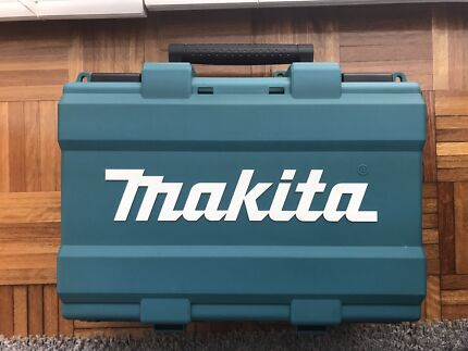 new makita case only (for driver drill, charger,3 batteries